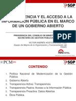 Gobierno Abierto 2016