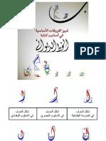Al-Faruqat Al-Asasiyyah Fi Asalib Kitabah Al-Khath Al-Diwani