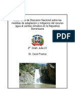 Dominican Republic National Issues Paper Water Final 1