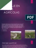 Drenaje en Suelos Agrícolas