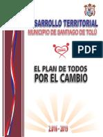 Plan de Desarrollo Territorial Tolú 2016-2019