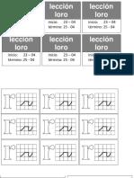 Material Lección Loro,Nido,Pino,Pato
