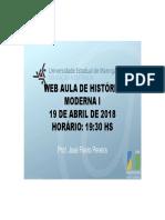 Web Aula Hist Moderna I 2018