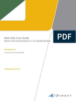 03  IDX 3 2 - Web ISite User Guide - RevA 093013 | Ip
