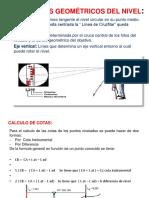 8. Elementos Geometricos y Correccion de Nivelacion