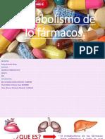 Metabolismo de Lo Fármacos