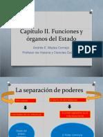 Capitulo I Funciones y Organos Del Estado