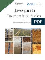 [2014] Claves para la taxonomia de suelos.pdf