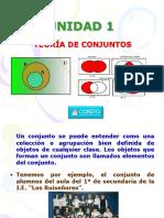 MAT1S 1U Teoría de Conjuntos