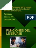 Ppt Las Funciones Del Lenguaje