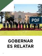 2018-04, Mensaje, Gobernar Es Relatar