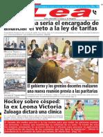Periódico Lea Jueves 30 de Mayo Del 2018