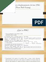 Transmisión Por Desplazamiento de Fase (PSK)