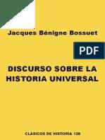 Bossuet, DISCURSO SOBRE LA HISTORIA UNIVERSAL