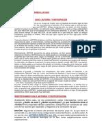 Caso- Autoría Directa y Participación