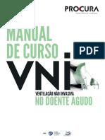 Manual de VNI - ventilação não invasiva no doente agudo