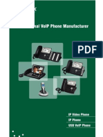 Yealink Full Range VoIP Phones Catalog V50