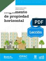 Leccion 3 Reglamento Propiedad Horizontal