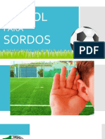Futbol Para Ciegos