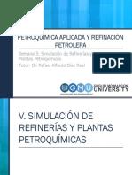 V. Simulación de Refinerías y Plantas Petroqu