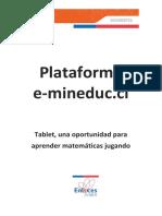 Tutorial Plataforma E-mineduc CursoTabletv2