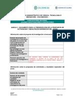 Anexo 3. Documento Para Presentacion de Propuestass