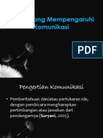 Faktor Yg Mempengaruhi Komunikasi1