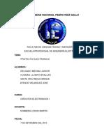 Proyecto de Electronicos i