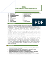 Silabo Automatización y Control de Procesos.2018.I