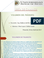 Volumen de Transito TERMINADO