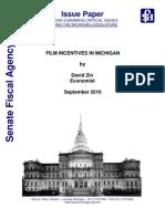 Michigan Film Incentives