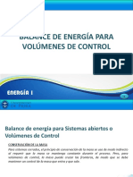 6.2 T Balance de Energía Para Volúmenes de Control