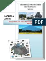Rippda Kabupaten Temanggung Tahun 2012