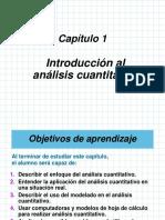 Cap. i -Analisis Cuantitativo y Toma de Decisiones