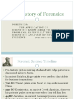 The History of Forensics