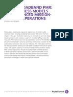 10781 Ultra Broadband Pmr 5 Business Models Enhanced Mission
