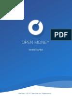 Open Money White Paper Portuguese