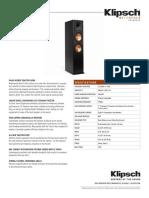 RP 280F Spec Sheet