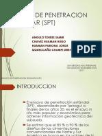 Ensayo de Penetracion Estandar (Spt) Grupo 4