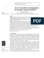 (2009) Fogarty _ a Review of Alcohol Consumption and Alcohol Control Policies
