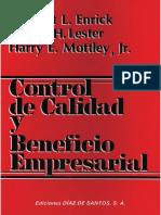 Control de calidad y beneficio empresarial 1ed - Ronald H. Lester.pdf
