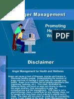 Anger Management Promoting Health & Wellness