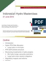 HHP - Indonesian Hydro Power Project Seminar Presentation