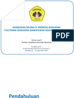 Pendidikan D4 Promkes Poltekkes Bandung