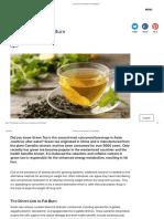 Green Tea For Fat Burn | F45 Challenge