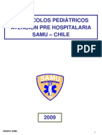 17-SAMU, Protocolos Pediatricos Atencion Pre Hospitalaria 2009