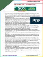 Current Affairs Pocket PDF - December 2017 by AffairsCloud.pdf