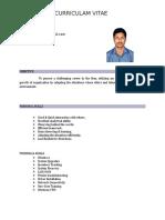 Sathiyaseelan Resume
