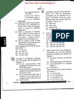 CS Executive Industrial Labour & General Law Paper June 2016