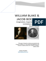 William Blake and Jacob Boehme